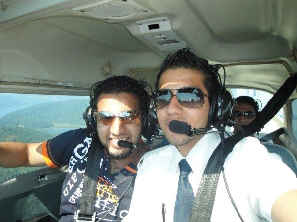 رحلة الطيران فوق فانكوفر