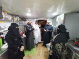 مدير عام الضمان بالدمام .. يتفقد مشاريع الأسر المنتجة
