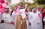 رئيس المجلس الفرعي لجمعية مراكز الاحياء يدشن فعاليات سنا الطائف