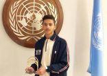 """طالب سعودي يحصل على لقب """"آينشتاين"""" في مسابقة عالمية.. وتكريمه بالأمم المتحدة"""