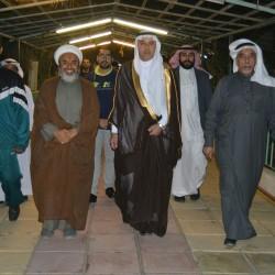عدد من اعلاميي الرياض في ضيافة النجيدي   ا