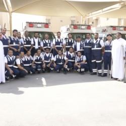 مدرسة اليرموك المتوسطة بالمبرز تنعى فقيدها الشهيد السعيد الطالب محمد الممتن