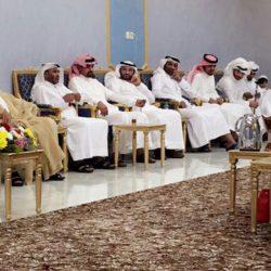 مجلس العبادي والعكروش والحضري يستقبل المهنئين بالعيد السعيد