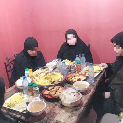 الغبقه الرمضانية بنادي الحي نماء بمدرسة طليطلة