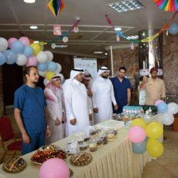 مستشفى مدينة العيون بالاحساء يحتفل بعيد الاضحى المبارك