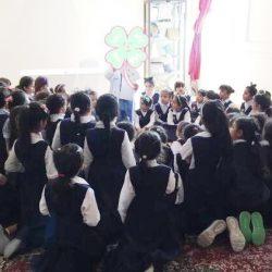 حلقة نقاش مع أولياء الأمور بمدرسة بدر الابتدائية
