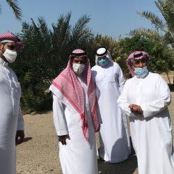 العطية يستقبل رئيس رابطة الأحياء بمحافظة الأحساء