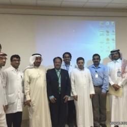 جمعية الطرف الخيرية تكرم أعضاء لجنة الأهالي