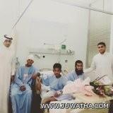 فريق قيادي من صحة الأحساء يطمئن على المصابين العمانيين