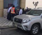 اصابة خمسة طالبات في حادث مروري صباح اليوم بالثقبة