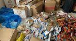 تصدير 2 طن تنباك و17500 علبة دخان بالشرقية