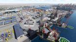 الشركة العالمية للصناعات البحرية تدشن بناء أول حفارتين بحرية