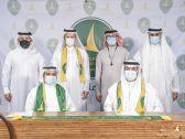 """اتفاقية شراكة تجمع « جمعية سيهات » مع """"نادي الخليج"""""""