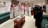 الجعفري يستقبل أعضاء فريق شباب الأحساء بمجلس شباب المنطقة الشرقية