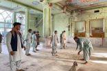 بالفيديو.. لحظة تفجير مسجد قندهار كما أظهرته كاميرات المراقبة