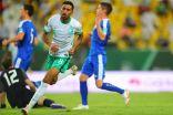 الأخضر يسقط أوزبكستان بثلاثية ويتأهل إلى التصفيات النهائية