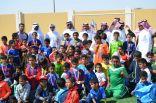 ختام دوري مدرسة الإمام النسائي لكرة القدم