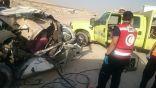 مصرع وإصابة 3 في حادث تصادم