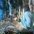 سقوط طفل في حفرة صرف صحي فجر اليوم الاثنين