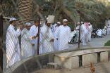 مقيمين مركز التأهيل الشامل للذكور بالأحساء في زيارة ترفيهية