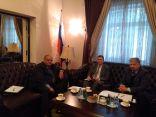 سماوي يلتقي السفير الروسي لبحث المشاركة الروسية في مهرجان جرش بدورته الـ 35